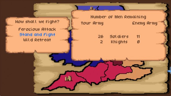 Defender Of The Crown combat
