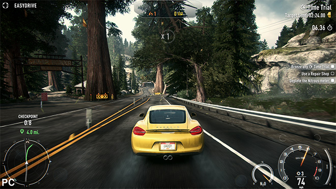 Need For Speed: Rivals, gameplay