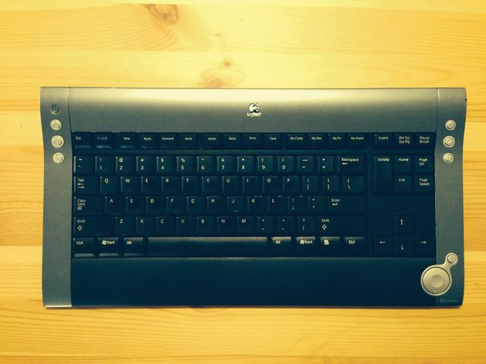 Logitech's original Di Novo keyboard, 2001.