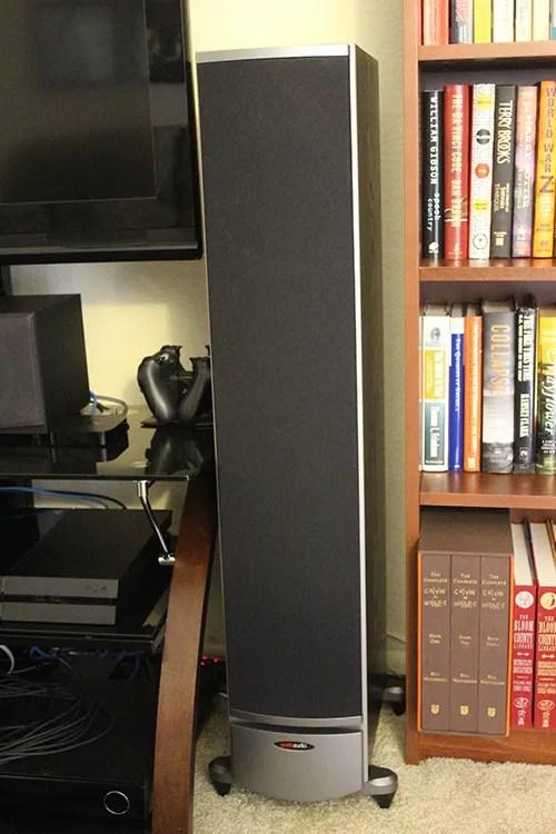 Polk Audio RTi8, floor-standing speaker