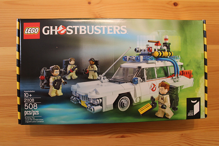 Lego Ghostbusters box, front