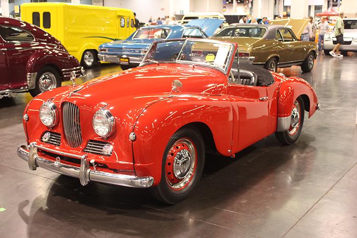 1952 Jowett Jupiter, 1486cc, 4-speed.