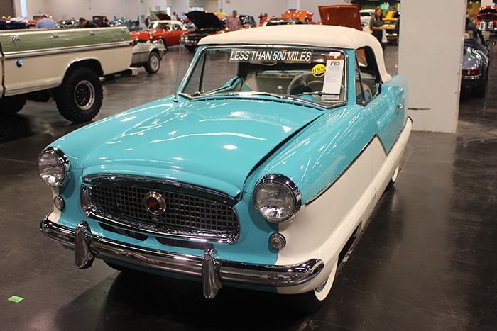 1961 Nash Metropolitan, 1500cc, 3-speed.