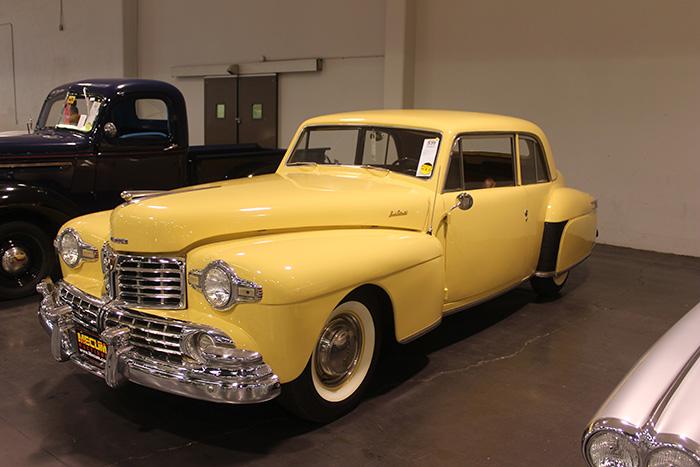 1948 Lincoln Continental, V12.