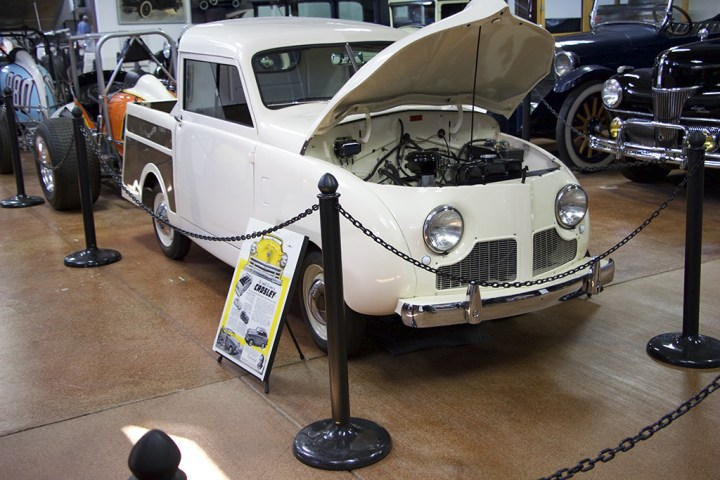 The 1949 Crosley Pickup Truck.