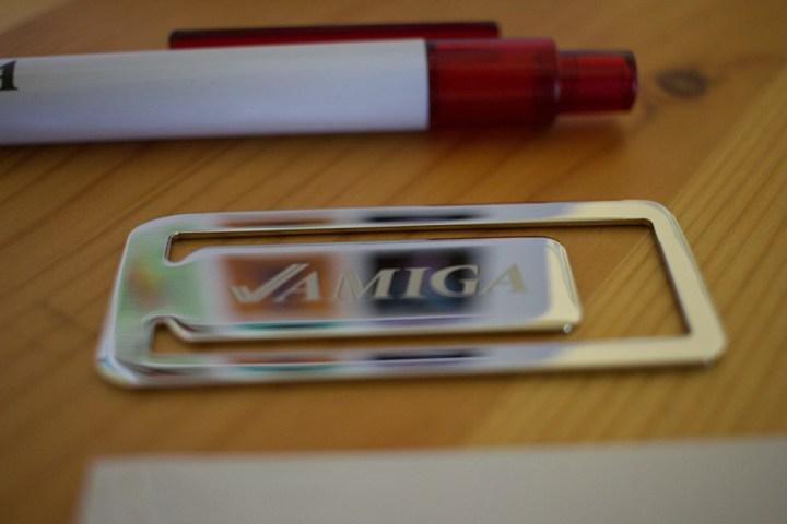 "The ""Amiga"" bookmark."