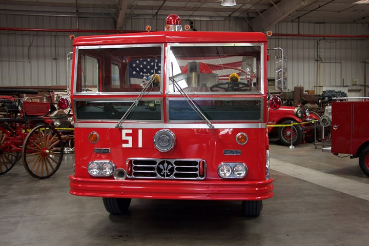 Engine 51, front view.