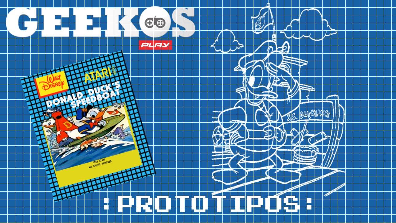 Prototipos: Donald Duck's Speedboat