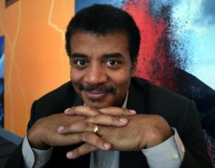 Neil Degrasse Tyson looking awesome while being ridiculous
