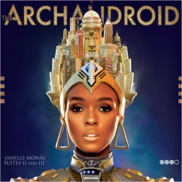 regal cover art for the second part of Janelle Monae's Metropolis album - The Archandroid