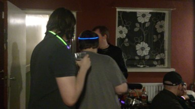 Geeks love glow sticks, it would seem!