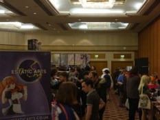 Busy dealers hall!