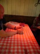 Our Tea-Party Tablecloths!