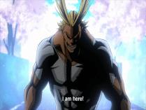 Izuku's favourite hero, All Might