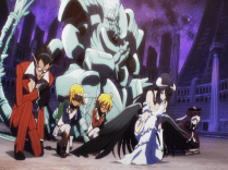 The Floor Guardians bowing to Lord Momonga/Ainz