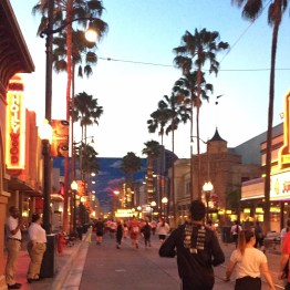 Hollywood Blvd at DCA