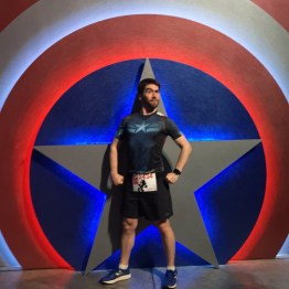 Captain America Ryan with his Shield