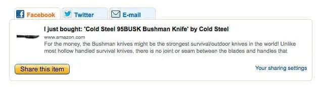 bushman purchase