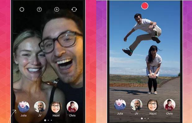 Mecânica do app Bolt era bem semelhante ao funcionamento do novo Instagram Stories.