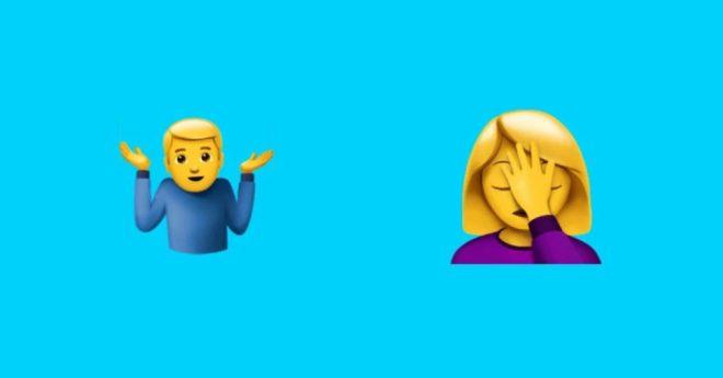 shrug-e-facepalm-emojis