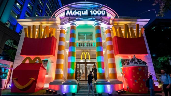 foto mostra fachada do Mequi 1000