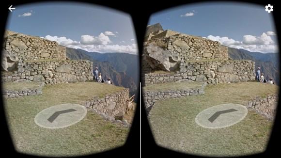 Google street view VR mode