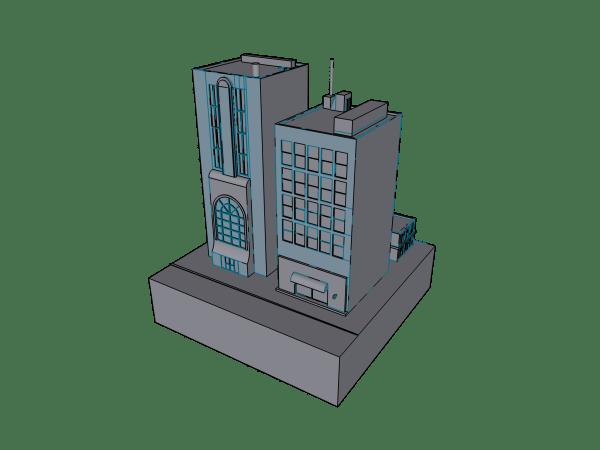 Mini city model