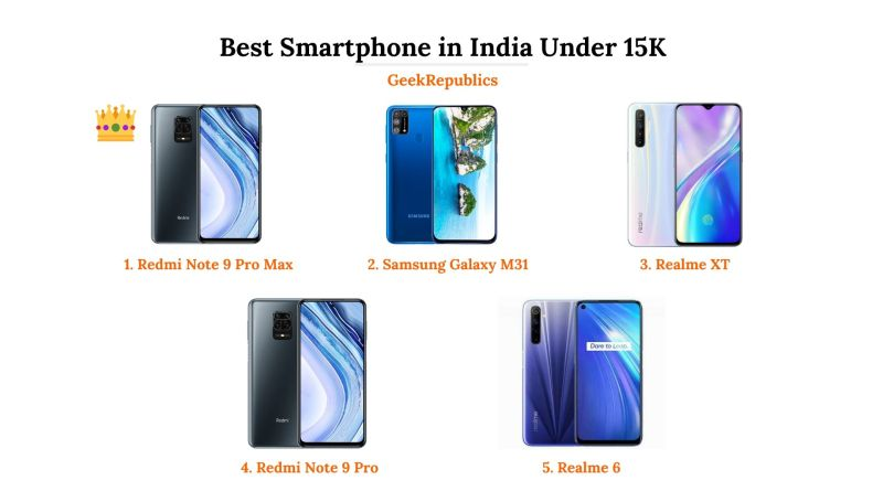 Best Mobile Phones Under 15000