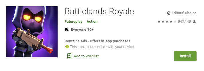 Battlelands Royale - Battle Royale Games