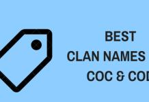 Best Clan Names