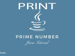 java program for prime numbers