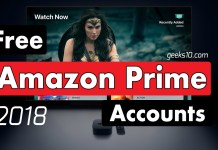Free Amazon Premium Prime Accounts 2018 (100% Working)