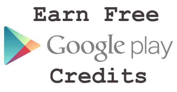 free google play credit