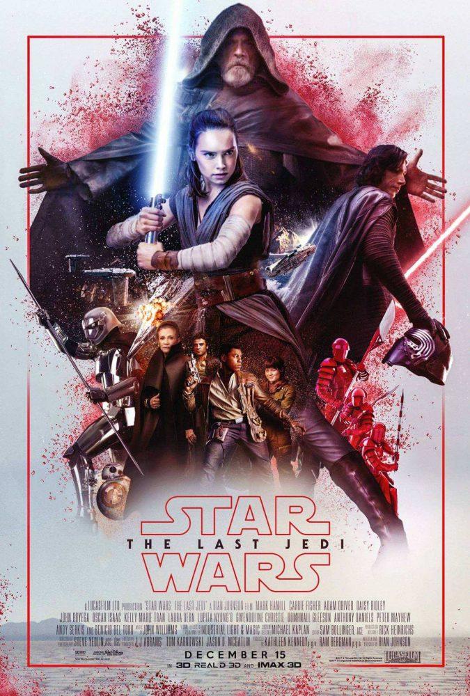Star Wars 8 Les Derniers Jedi : derniers, Frissonnez, Devant, Seconde, Bande-annonce, Episode, VIII:, Derniers, Geeks