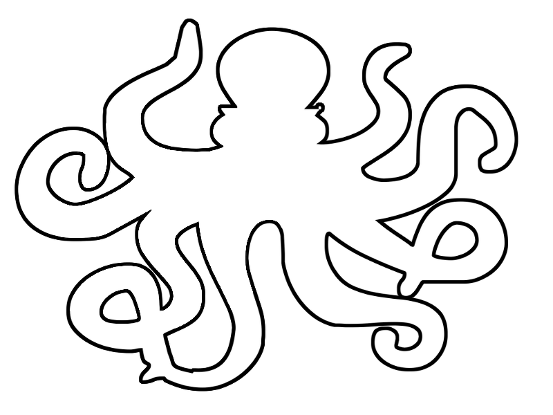 Coloring Pages: Octopus
