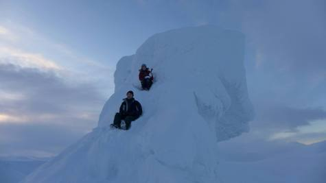 The very tip top of Trollsteinen. Photo credit: Lloyd Woodham