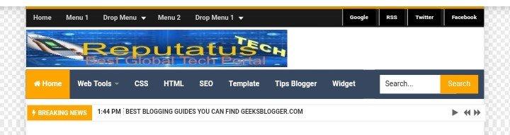 Simplify Geek Blogger Theme