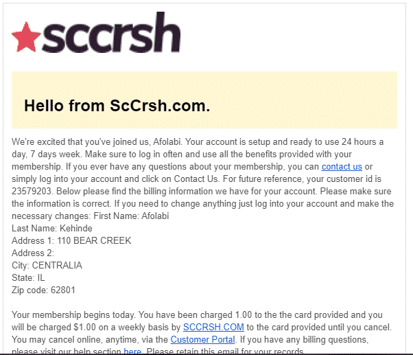 Hello from ScCrsh.com