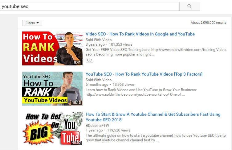 YouTube SEO Title and Description