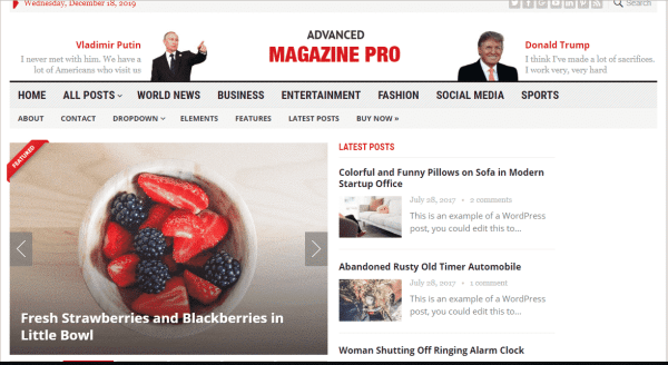 Advanced Magazine Pro