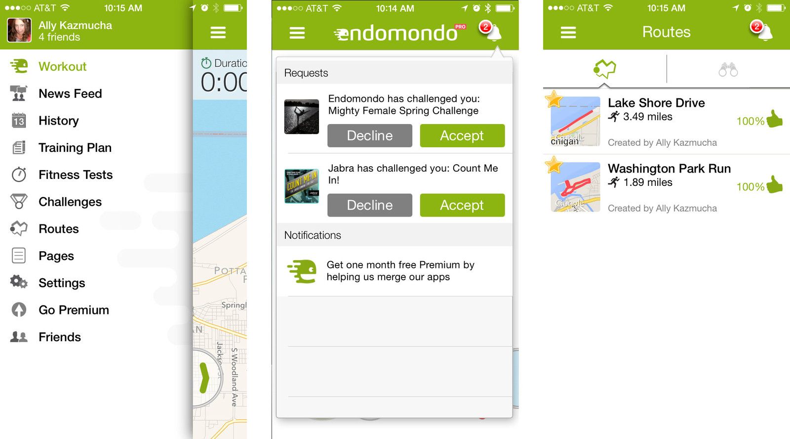 Best run tracking apps for iPhone: Endomondo