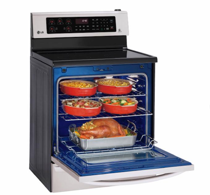 LG smart oven kitchen gadgets