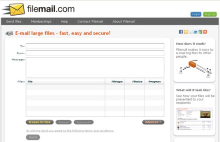 filemail large files online