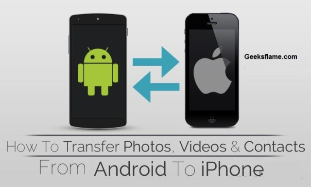 from Android to iPhone.