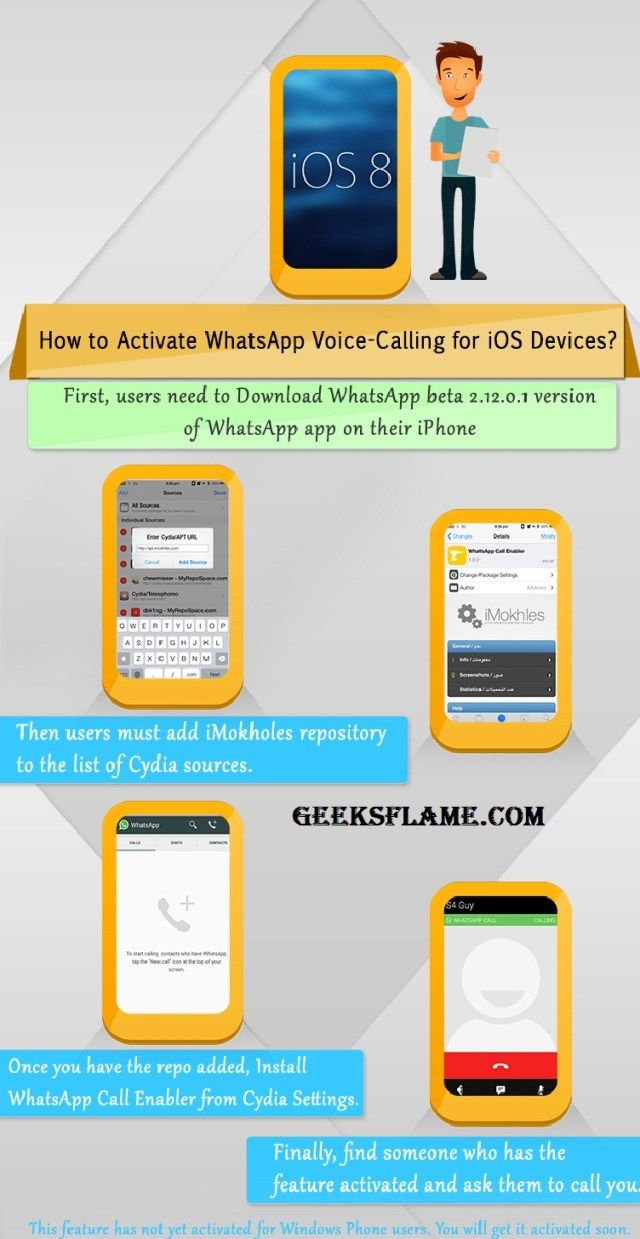 WhatsApp Voice Calls on iOS