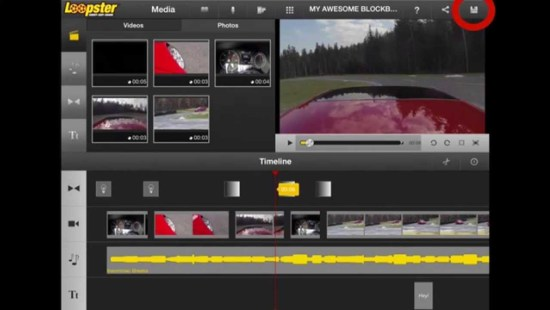 loopster online video editor