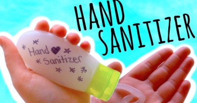 make hand sanitizer naturally