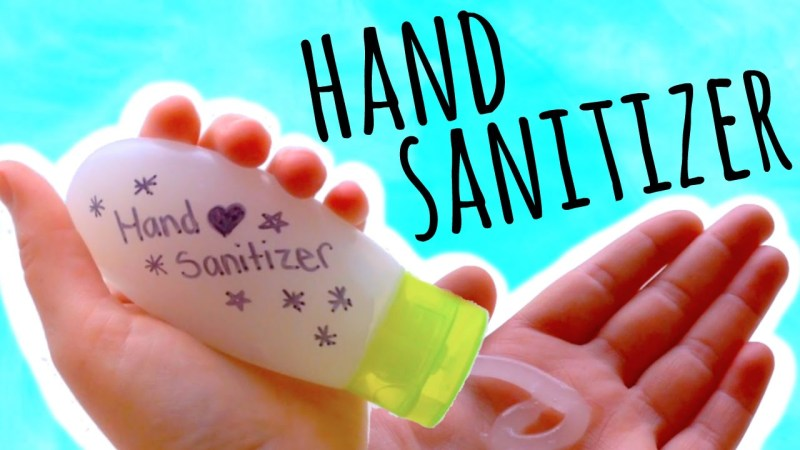 make hand sanitizer naturally