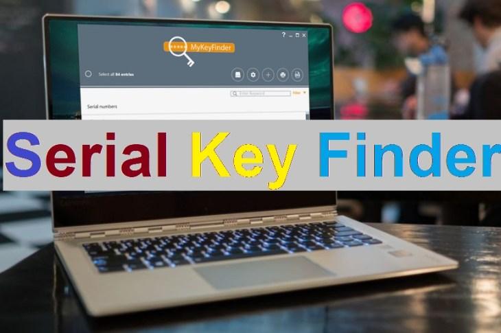 serial Key Finder