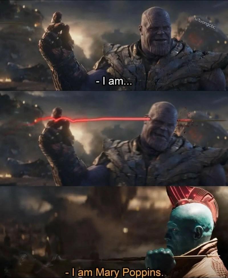Thanos Yondu Mary Poppins
